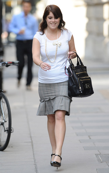 Princess Eugenie Leather Tote