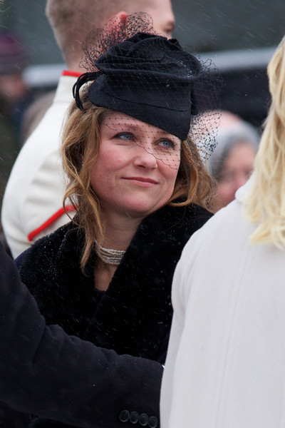 Princess Martha Louise Decorative Hat [johan martin ferner funeral,martha louise of norway,hair,hairstyle,lady,fashion,blond,hat,headgear,fashion accessory,long hair,event,oslo,norway,funeral service]
