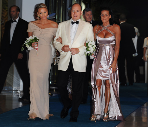 Princess Stephanie Evening Dress