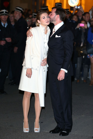 Princess Stephanie of Luxembourg Skirt Suit [suit,event,fashion,formal wear,premiere,dress,coat,outerwear,haute couture,tuxedo,guillaume of luxembourg stephanie de lannoy - official ceremony,stephanie,prince,belgian countess,r,fireworks performance,luxembourg,l,wedding,wedding]
