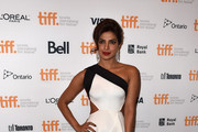 Priyanka Chopra One Shoulder Dress