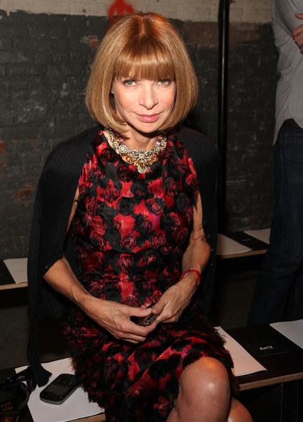 More Pics of Anna Wintour Gemstone Statement Necklace (1 of 4) - Anna Wintour Lookbook - StyleBistro