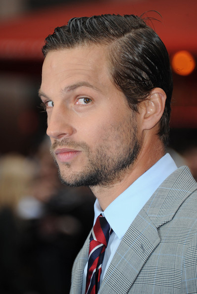 More Pics of Logan Marshall-Green Striped Tie (1 of 22) - Striped Tie Lookbook - StyleBistro