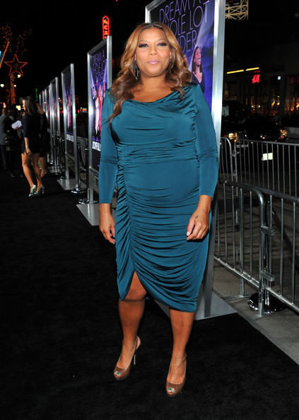 Queen Latifah Evening Dress