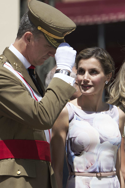 Queen Letizia of Spain Skinny Belt