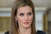 Queen Letizia of Spain Layered Cut
