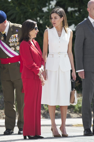 Queen Letizia of Spain Skirt Suit