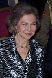 Queen Sofia wore a classic bob at the Proyecto Hombre Association 25th anniversary event.