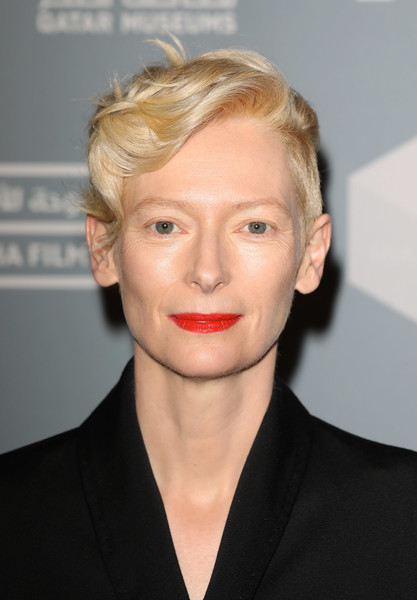 Tilda Swinton's Modern Finger Wave