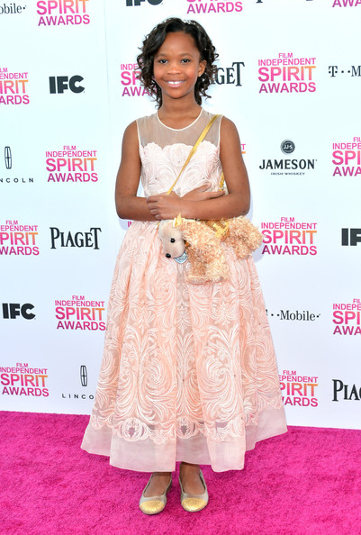 Quvenzhane Wallis Evening Dress
