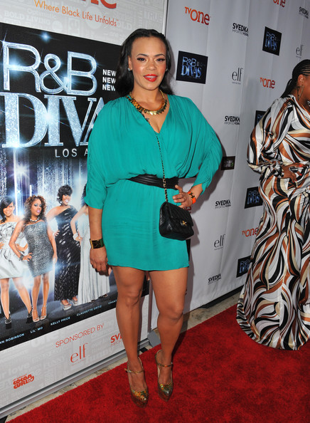 More Pics of Faith Evans Long Braided Hairstyle (3 of 5) - Long Braided Hairstyle Lookbook - StyleBistro