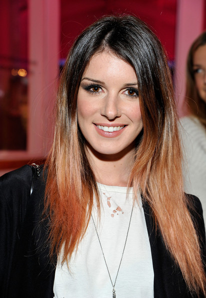 Shenae Grimes stood out with her hip ombre tresses at the Revolve Pop-Up launch.