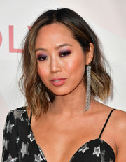 Aimee Song's short wavy 'do at the #REVOLVEawards was a perfect mix of sweet and edgy.