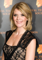 Jane Danson attended the 2012 RTS Programme Awards in London wearing her cute layers cut smooth and softly tousled.