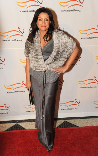 Rachael Ray Fur Coat [funny thing happened on the way to cure parkinsons,clothing,carpet,hairstyle,long hair,red carpet,fashion,footwear,outerwear,suit,pantsuit,rachel ray,benefit - arrivals,a funny thing,way,benefit,the waldorf astoria hotel,new york city,cure parkinsons]