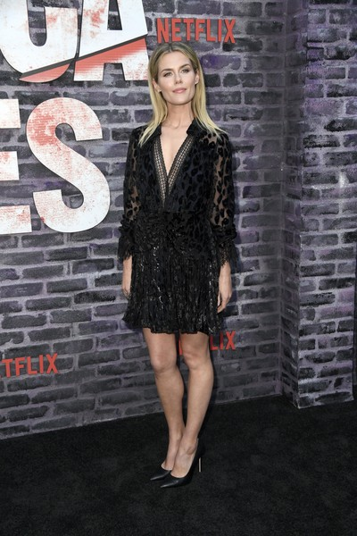 Rachael Taylor Little Black Dress [season,clothing,little black dress,dress,cocktail dress,fashion,premiere,leg,footwear,outerwear,long hair,arrivals,jessica jones,rachael taylor,arclight hollywood,california,netflix,screening]