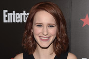 Rachel Brosnahan Medium Wavy Cut