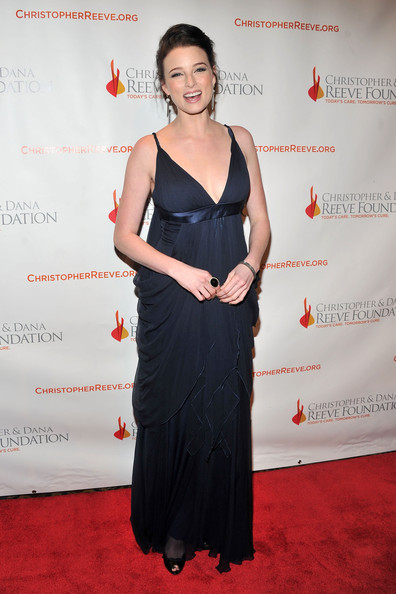 Rachel Nichols Cocktail Ring [clothing,dress,carpet,red carpet,shoulder,premiere,flooring,formal wear,cocktail dress,event,rachel nichols,new york city,cipriani wall street,christopher dana reeve foundation,a magical evening gala]