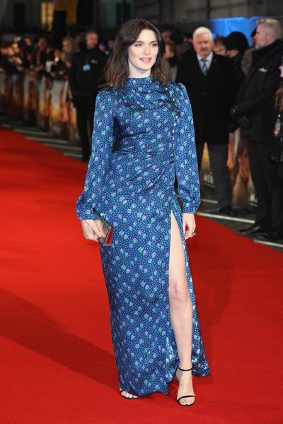 Rachel Weisz Print Dress