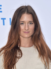 Grace Gummer sported a hippie-chic hairstyle at the Rape Foundation brunch.