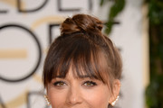 Rashida Jones Hair Knot