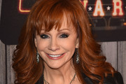 Reba McEntire Feathered Flip