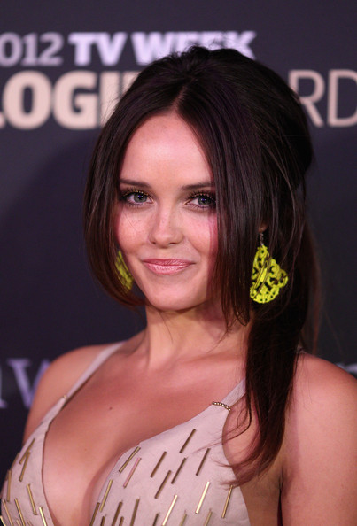 Rebecca Breeds Half Up Half Down