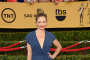 Rebecca Gayheart Wrap Dress