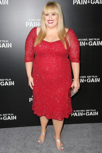 Rebel Wilson Beaded Dress