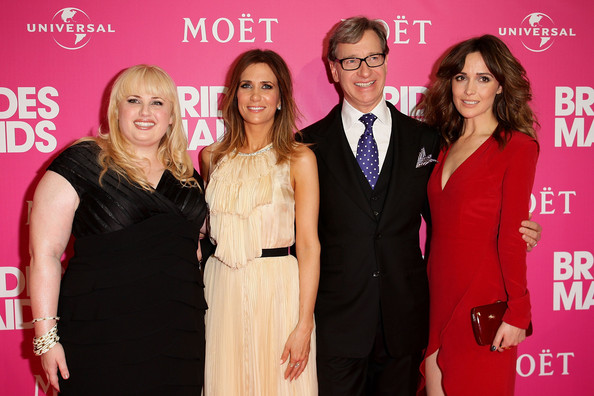 """""""Bridesmaids"""" Stars Host Celebrity Girls Night Out"""