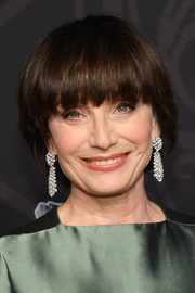 Kristin Scott Thomas attended the 2019 Cesar Film Awards wearing her hair in a bowl cut.
