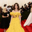 Katie Holmes (in Marchesa) as Belle
