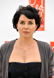 Sadie Frost wore short curls to the Red Hot Women Awards in London.