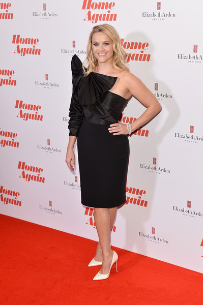Reese Witherspoon One Shoulder Dress