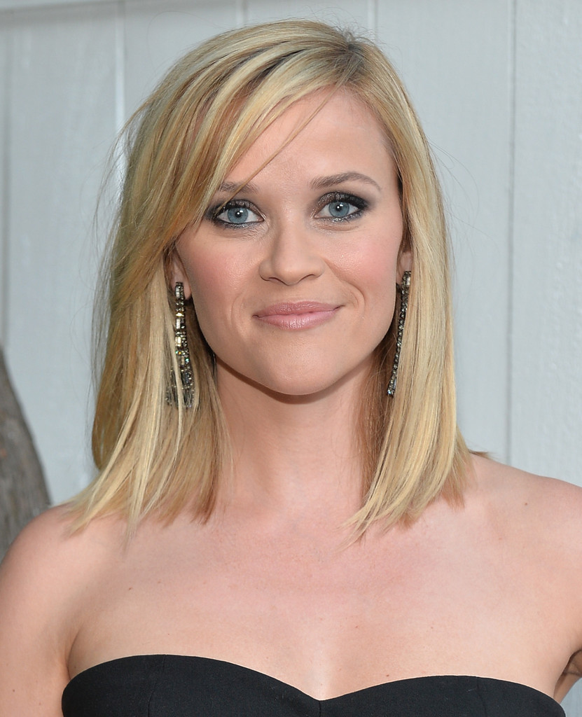 reese witherspoon shoulder length hairstyles - reese witherspoon