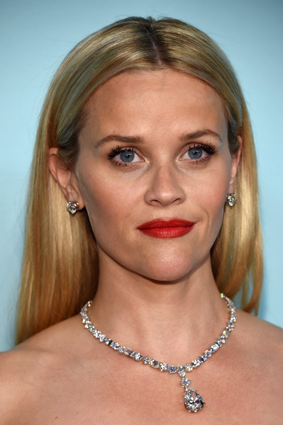 Reese Witherspoon Diamond Statement Necklace