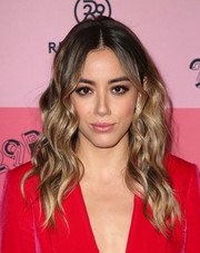 Chloe Bennet looked summer-glam with her piecey waves at the 29Rooms Los Angeles 2018.