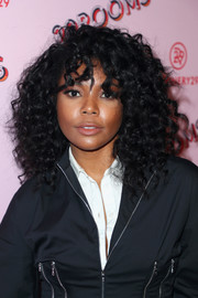 Gabrielle Union looked fab with her tousled curls at the Turn It Into Art opening night party.