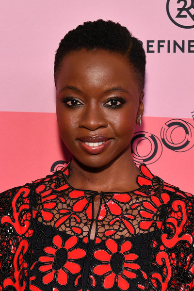 Danai Gurira sported close-cropped curls at the 29Rooms New York 2018 opening party.