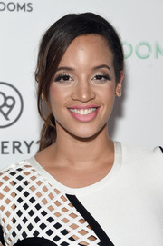 Dascha Polanco opted for a simple yet lovely ponytail when she attended the 29Rooms event.