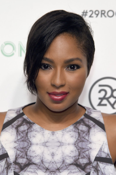 Alicia Quarles rocked an edgy short 'do at the 29Rooms event.