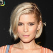 Kate Mara's Deep Side-Part
