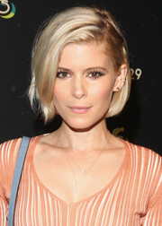 Kate Mara looked cute with her half-pinned bob at the 29Rooms event.