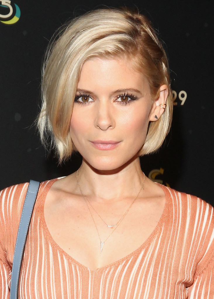 Kate Mara S Deep Side Part 50 Celeb Hairstyles You Ll
