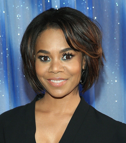Regina Hall Bob [press junket photo,think like a man too,hair,face,hairstyle,eyebrow,chin,forehead,black hair,layered hair,long hair,brown hair,regina hall,call,cast,beverly hilton hotel,beverly hills,california,sony pictures]