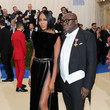 Naomi Campbell and Edward Enninful