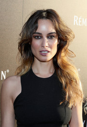 Berenice Marlohe rocked messy waves during Remy Martin's special evening with Jeremy Renner.