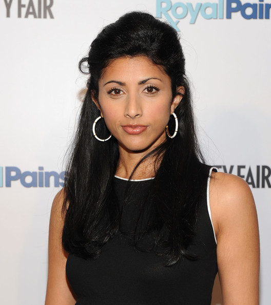 Reshma Shetty Half Up Half Down