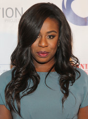 Uzo Aduba looked totally glam wearing this long curly 'do at the Resolution Project's Resolve Gala.