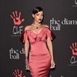 Rose Zac Posen at the 2014 Diamond Ball